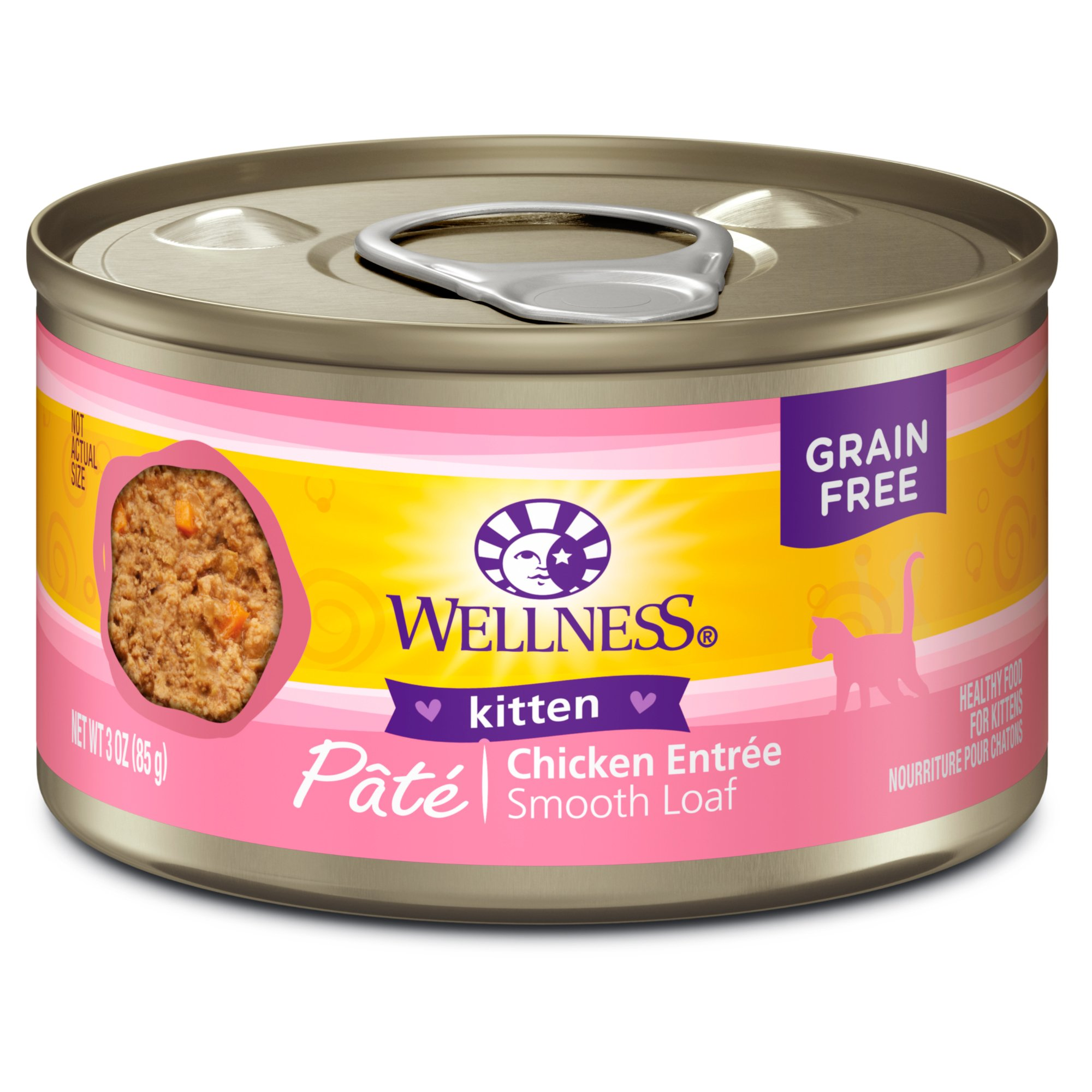 Wellness Grain Free  Oz Cat Food