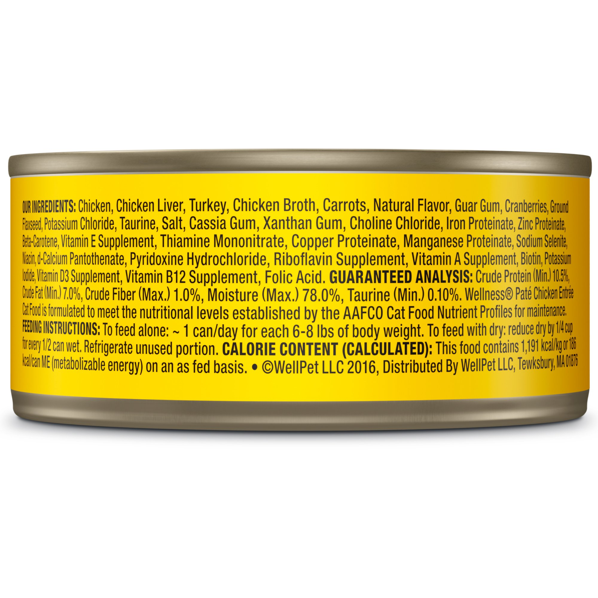 Wellness-Complete-Health-Natural-Grain-Free-Chicken-Pate-Wet-Cat-Food thumbnail 5