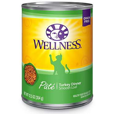 Wellness Complete Health Natural Grain Free Turkey Pate Wet Cat Food