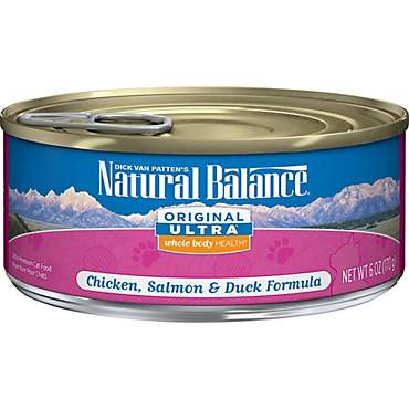 Natural Balance Ultra Premium Chicken, Liver, Duck & Salmon Wet Cat Food