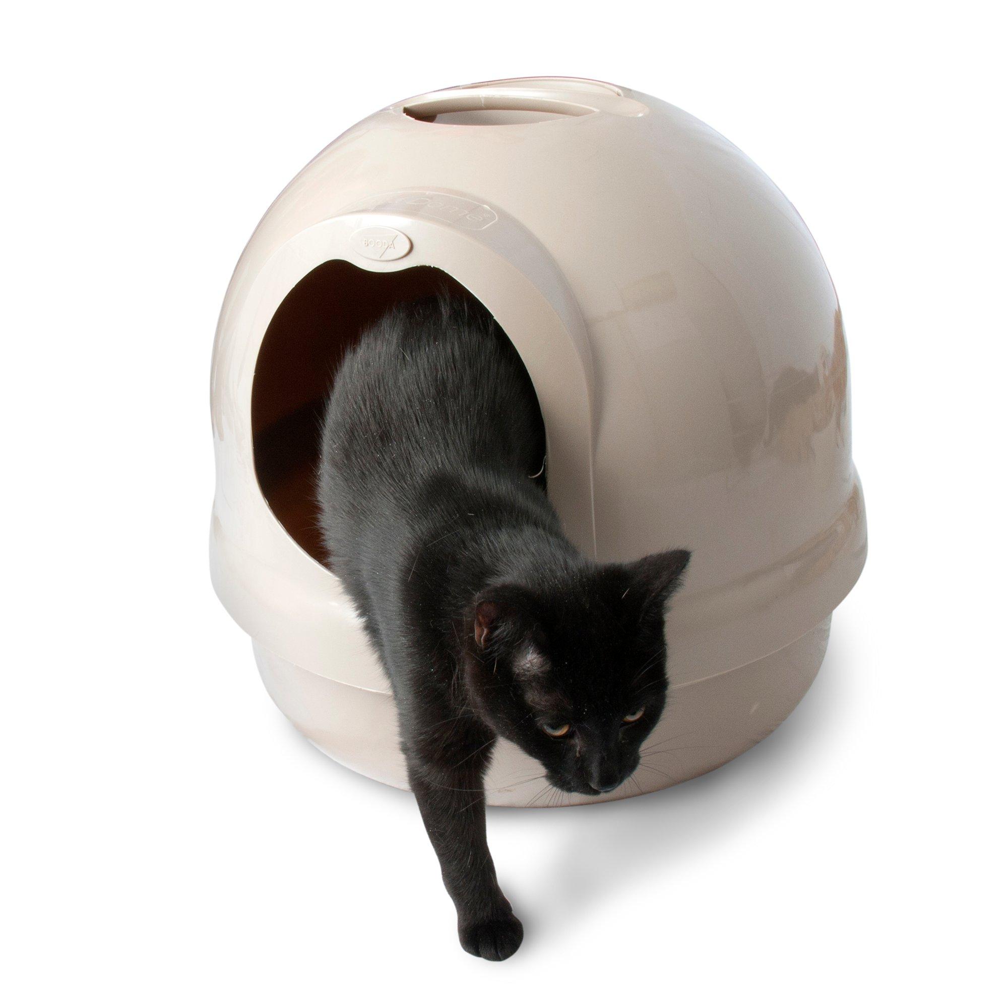 Booda Dome Covered Litter Box in Titanium Petco