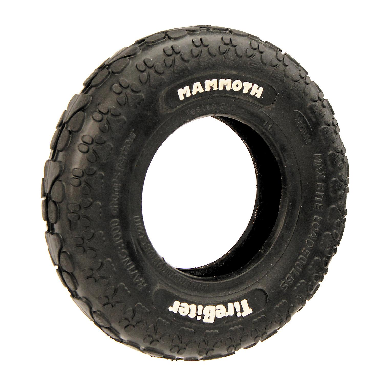Mammoth Tirebiter Dog Toy Medium Black