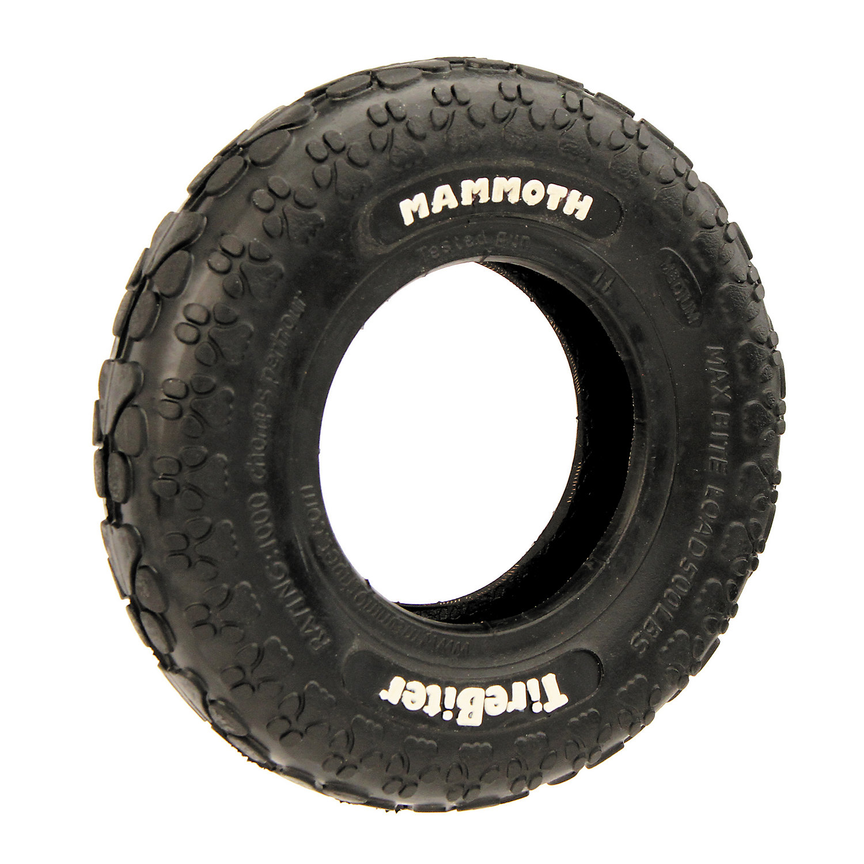 Mammoth Tirebiter Dog Toy Large Black
