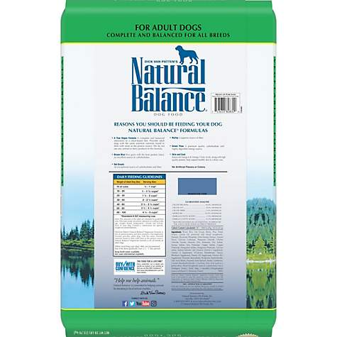 Natural Balance Vegetarian Formula Dog Food Petco