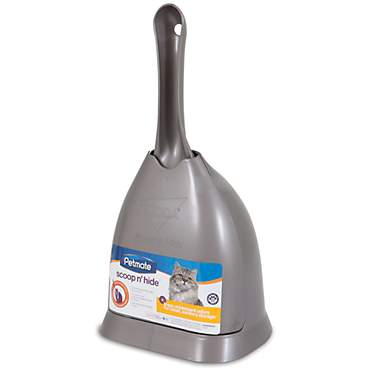 Petmate Scoop 'n Hide Titanium Cat Litter Scoop