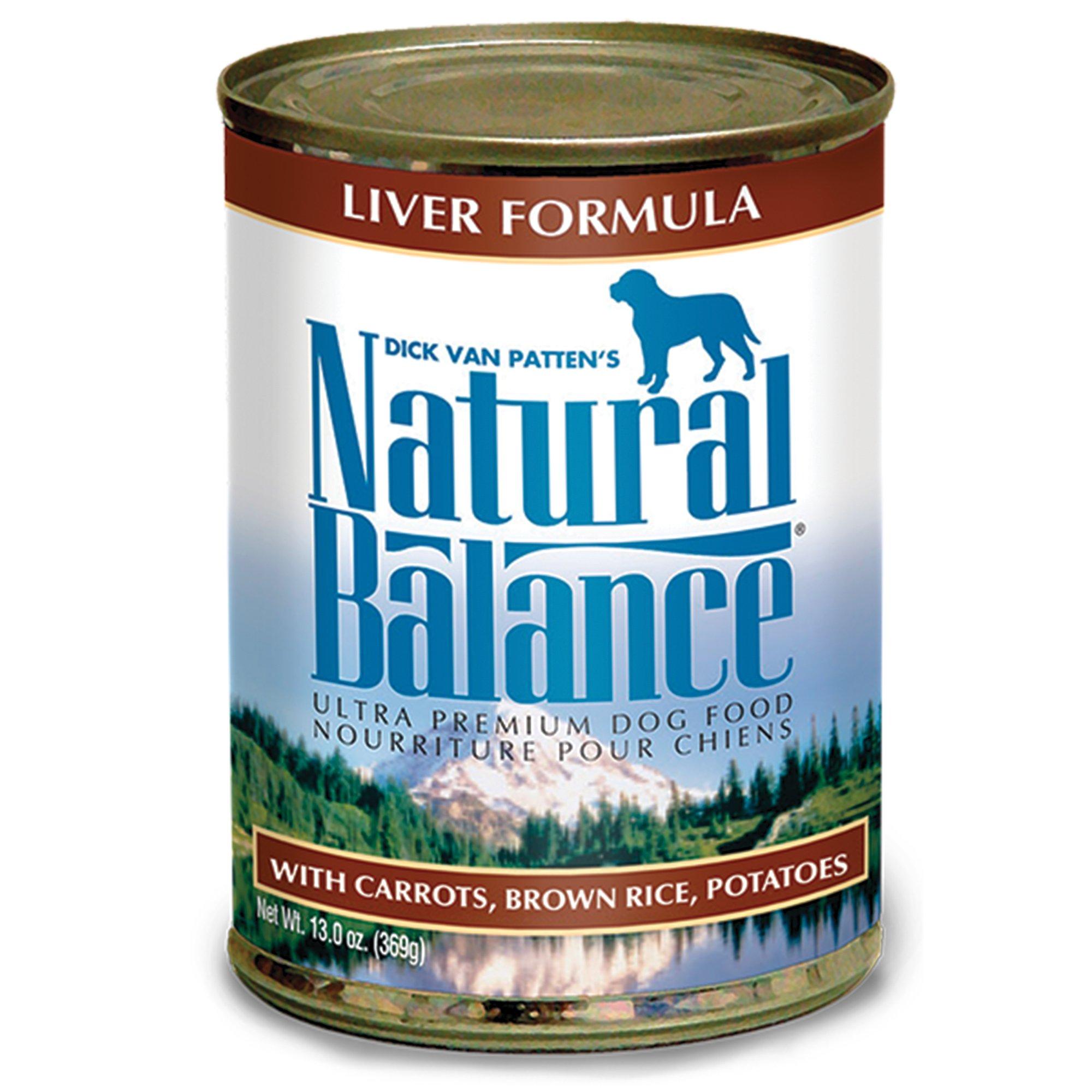 Natural Balance Can Dog Food Liver