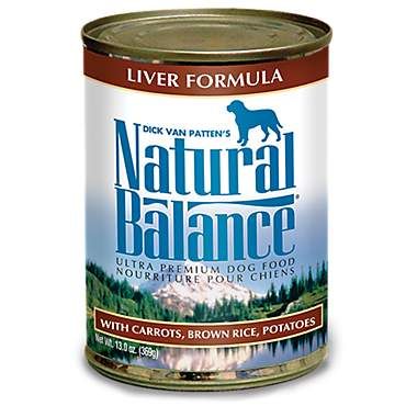 Natural Balance Ultra Premium Liver Formula Wet Dog Food