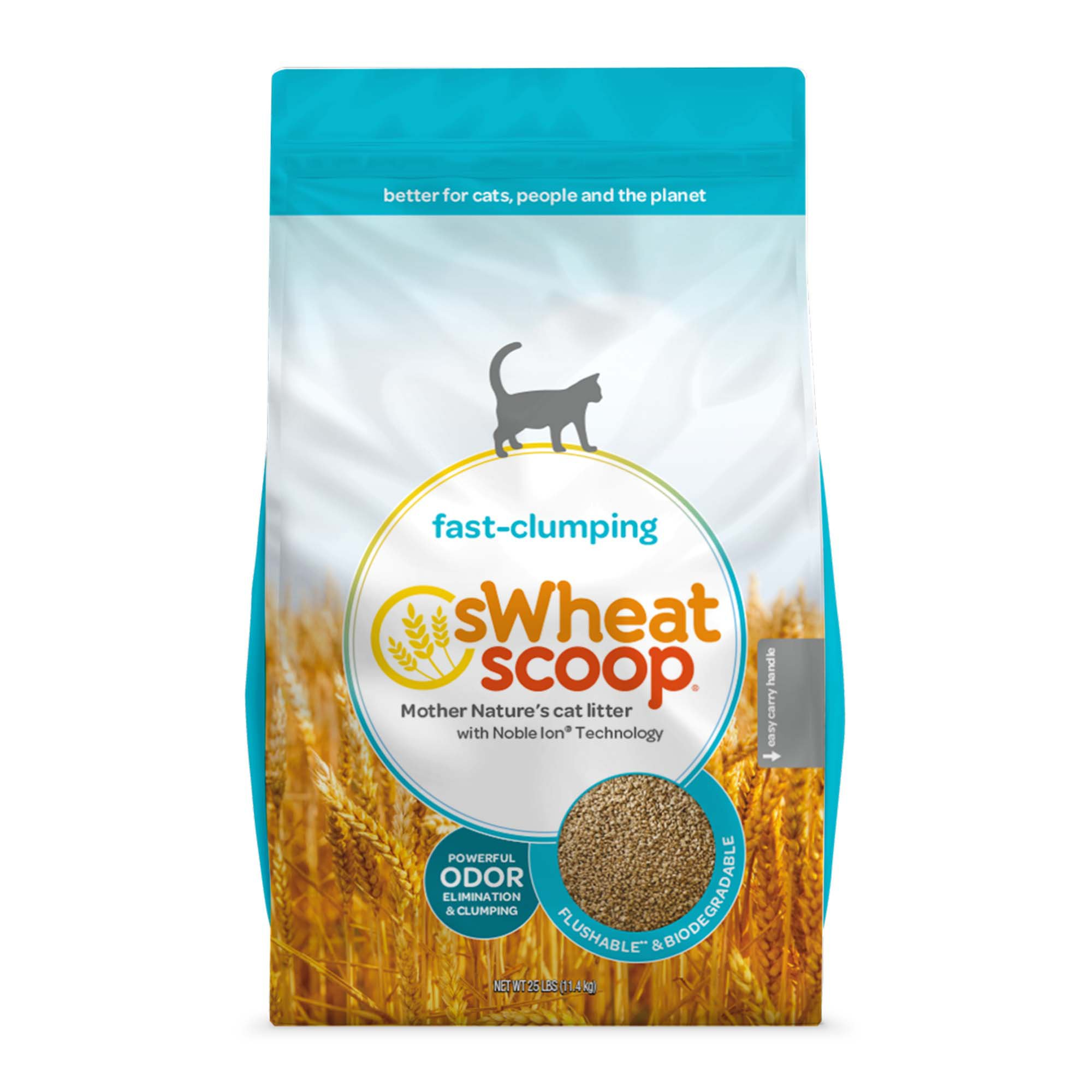Wheat Scoopable Cat Litter