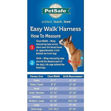 Petsafe Gentle Leader Easy Walk Harnesses For Dogs Harness Collar Petco